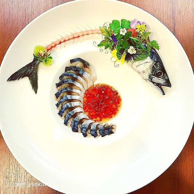 "foodartchefs: By @chef_yankavi ""Mackerel..."" #foodphotography #f52grams #food…"