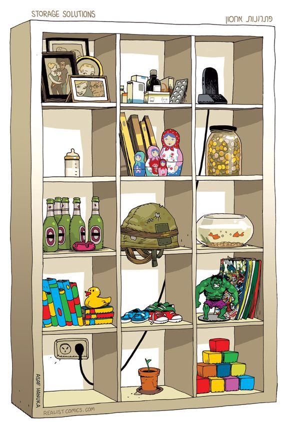 Storage solutions - Asaf Hanuka.