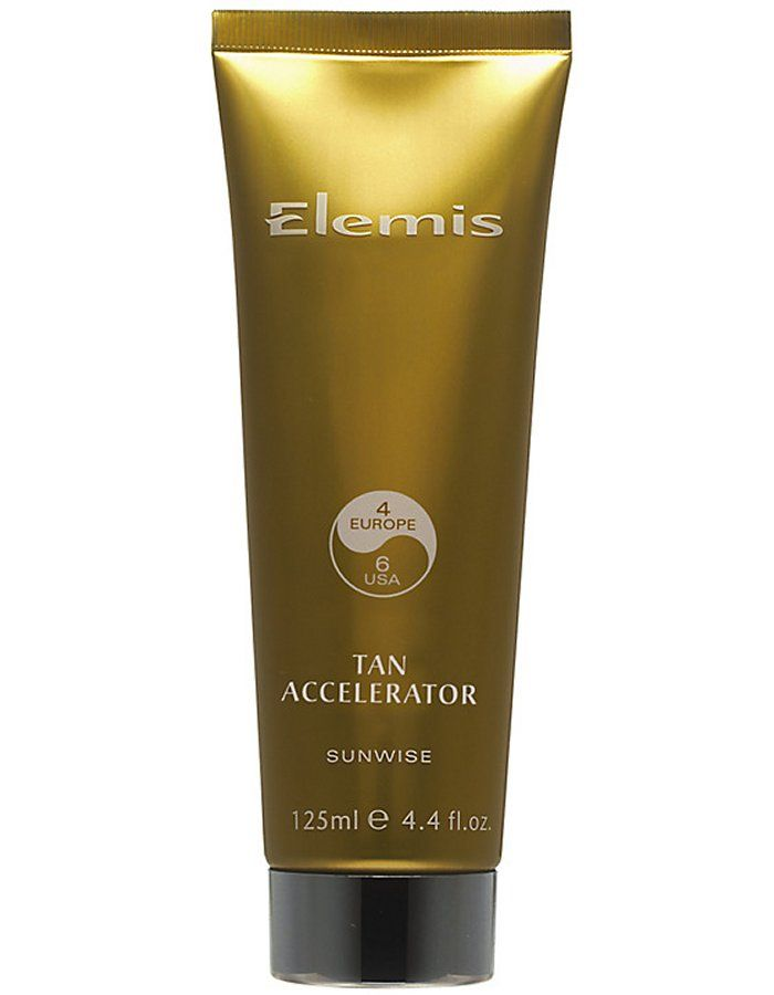 Elemis Tan Accelerator 125ml Prepare the body for exposure to the sun by stimulating its natural Melanin production in advance of your holiday. Fragrant Tahitian Gardenia, Macadamia and Jojoba Oil combined with a tan activating c http://www.MightGet.com/january-2017-11/elemis-tan-accelerator-125ml.asp