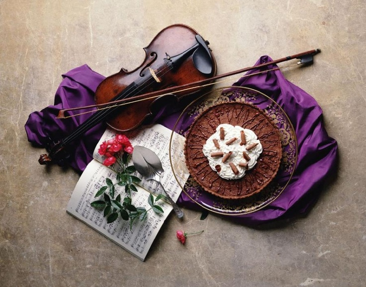 The Sound of Chocolate by Andre Levasceaux: Postcards, Beauty Instruments, Heart, Roses Flower, Nexus Wallpapers, Music Love, Photography Wallpapers, Cups Cakes, Delicious Food