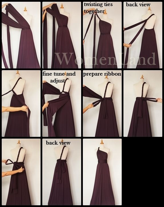 how to securely wear a wrap top
