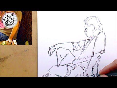 Cómo Dibujar Personas Paso a Paso: El Apunte o dibujo del natural - YouTube