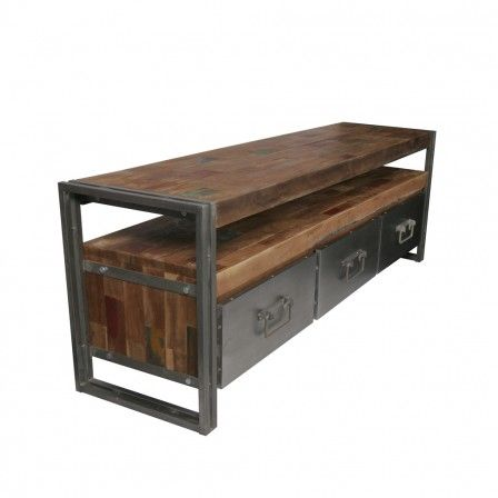 Tv meubel trendhopper model industrial bogar home products pinterest tes models and - Console ingang kast lade ...
