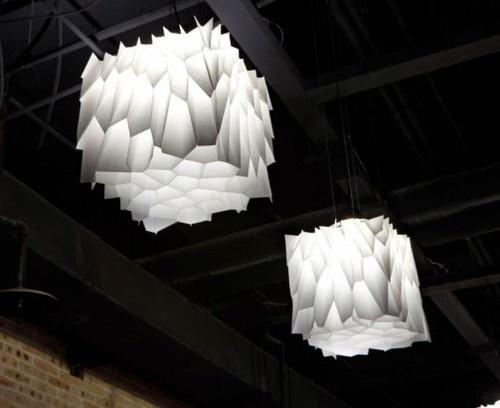 Voronoi Honeycomb Pendant Light By Noiz Architects.