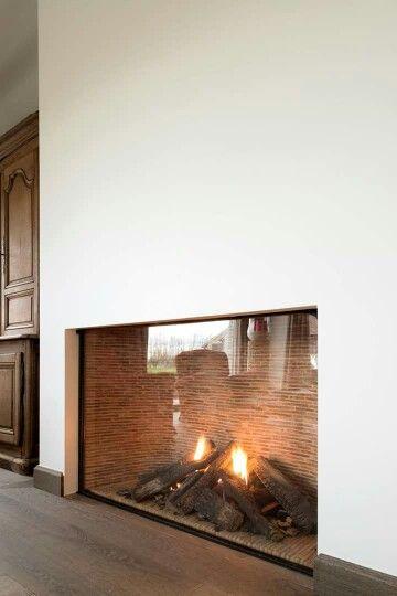 1765 best images about ambientes com lareiras on pinterest - Chimeneas minimalistas ...