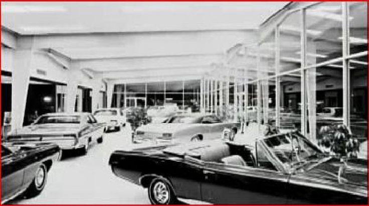 1967 Frank Gillman Pontiac Dealership Showroom, Houston