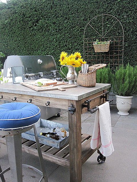 outdoor bbq kitchen free standing - Google Search
