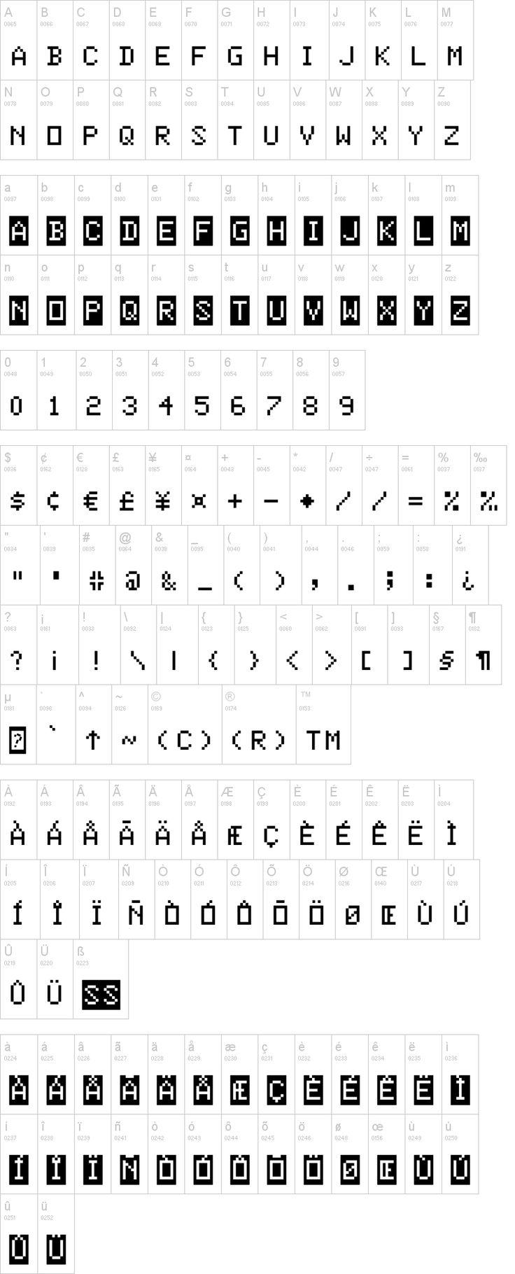 Color Basic Font Basic, Color, Fonts
