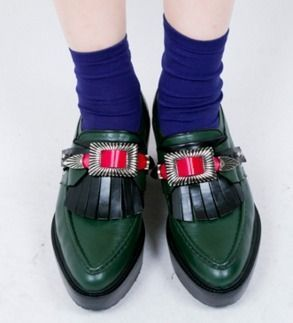 TOGA パンプス・ミュール TOGA(トーガ) ローファー 厚底 プラットフォーム 靴 Kilt Clog