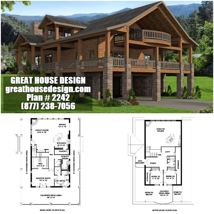 Beautiful Rustic Ranch House Plans Walkout Basement