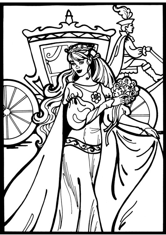 Princess Leonora Colouring PagesColoring