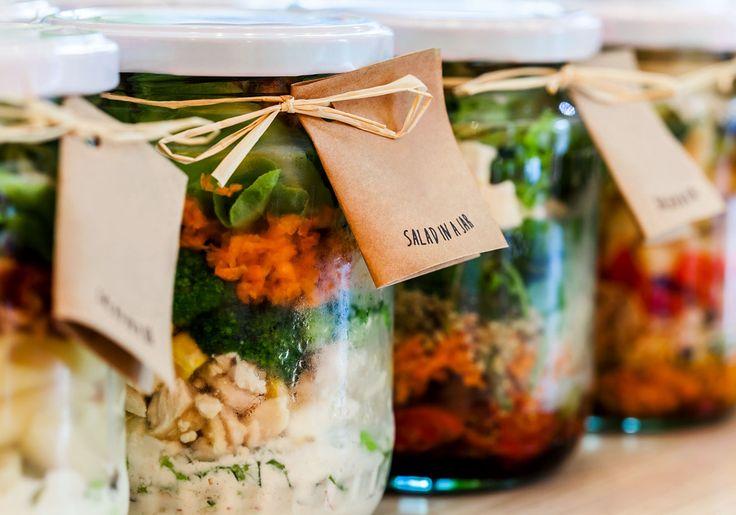 5 receitas para montar sua salada no pote para todos os dias da semana