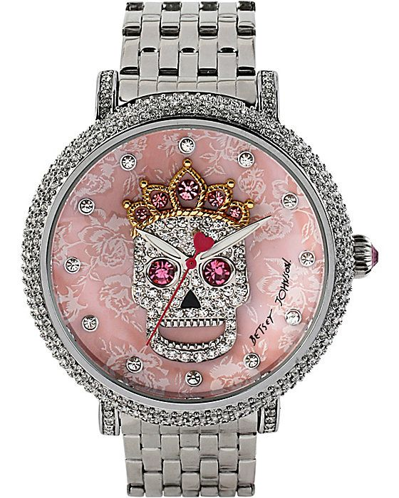 BLING SKULL CROWN WATCH