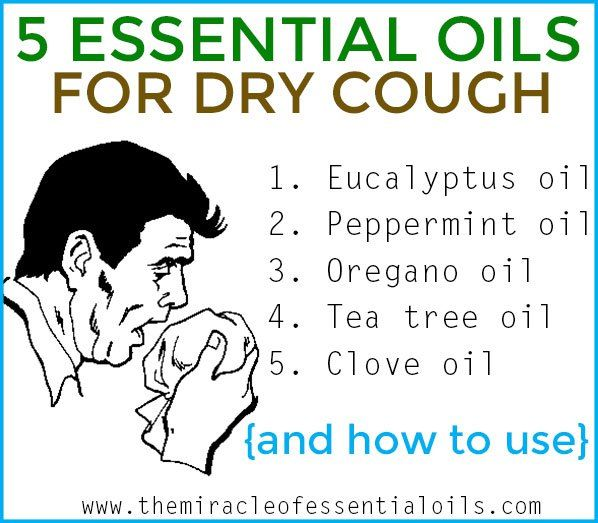 Got a hacking dry cough that gives you no respite? Try any of these effective essential oils for dry cough relief and how to use them!