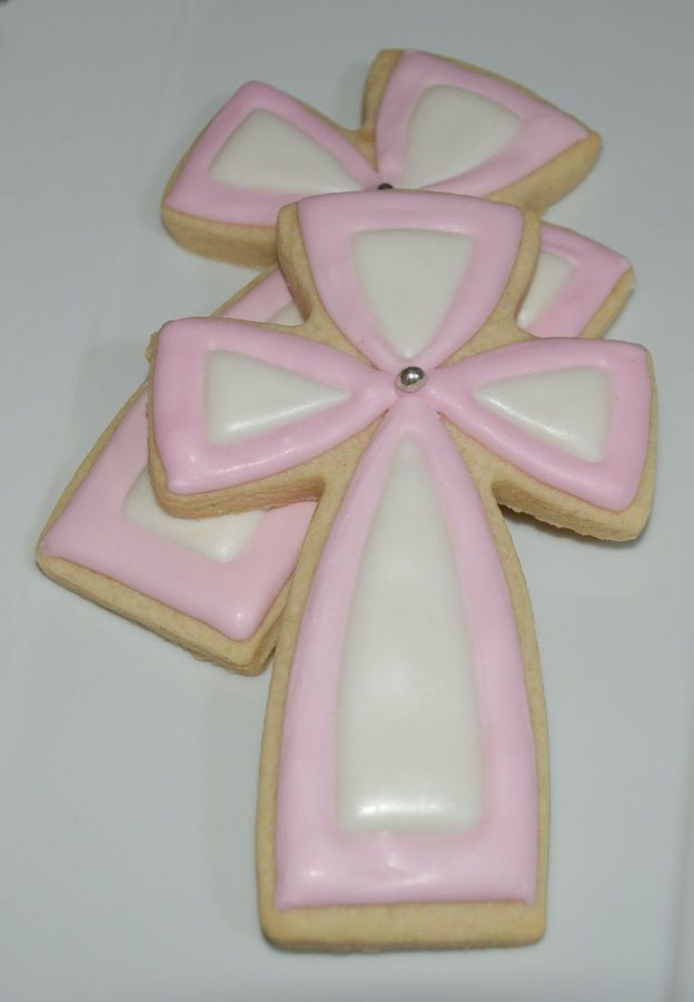 gallery of cross cookies | First Communion Cross cookies