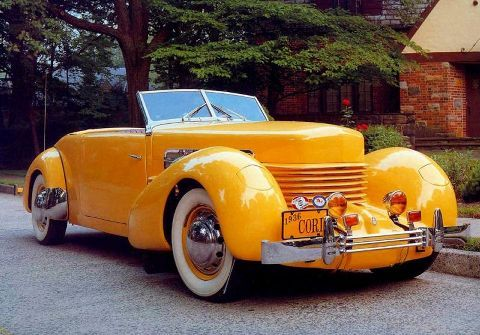 "1936 Cord 810 Phaeton-""I like humpy fenders"""