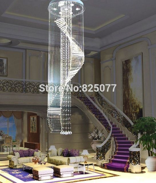 Free shipping 2016 new modern design Dia600*H3250mm home decoration crystal chandeliers,super hotel crystal lights