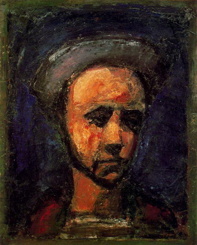Жорж Руо Автопортрет 1925