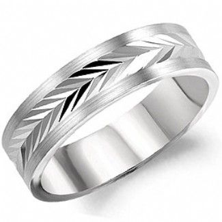 Crown Ring - Collections Wedding Bands Carved Wb 8231 M10