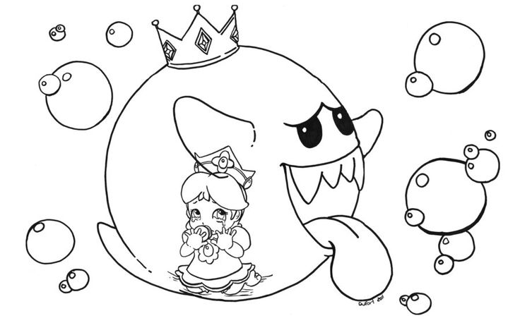 611 best jadedragonne draw girls images on pinterest for King boo coloring pages