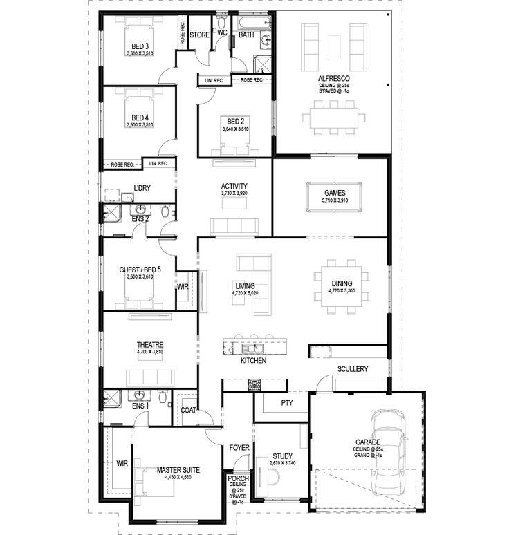 540 Best House Plans Images On Pinterest Floor Plans