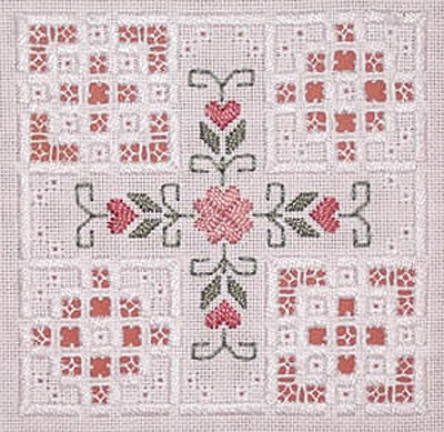 hardanger embroidery | This fantastic hardanger kit from Classic Embroidery is part of their ...