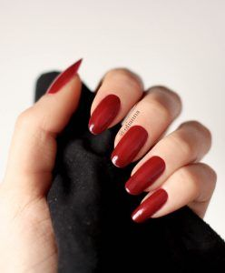 OTIANNA's nails Anna Berezowska - paznokcie  #nails #rednails #red #pazokcie
