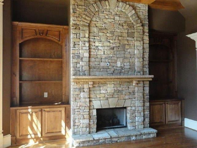 Painted Fireplace Surround