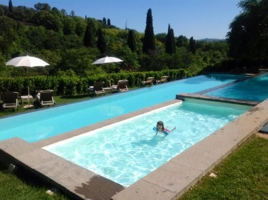 Longing to take a quick dip? You won't have to wait much longer. The heated pool will be open for the public on April 1st!  http://salviatino.com/es/ Il Salviatino Luxury Hotel Florence