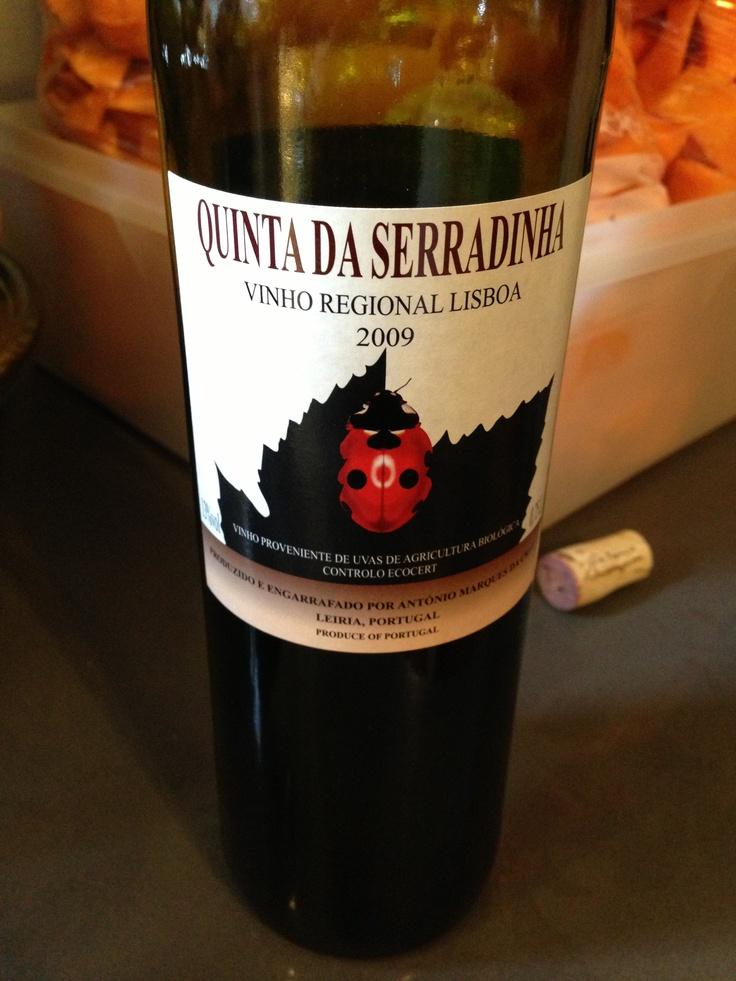 Quinta da Serradinha - 2009 - Lisboa - Portugal (vinho biológico)