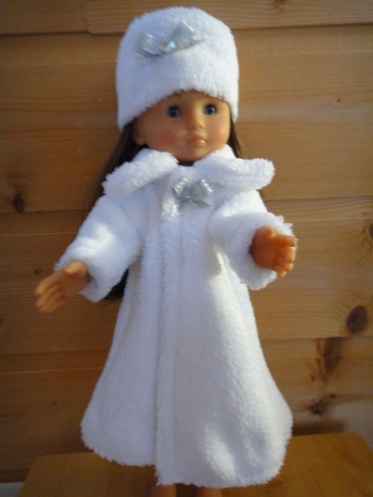manteau blanc et toque corolle les chéries