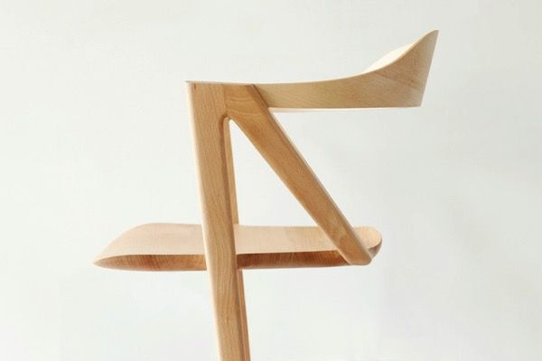 Inactivité   2 legged chair by Benoit Malta lifestyle inspiration   from the storeroom @ POTW