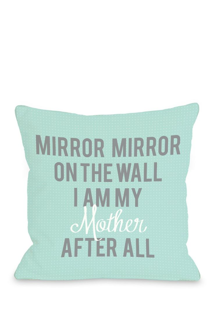 Mirror, mirror on the wall... I am my mother after all // Haha!! Scary, no? #mothers_day