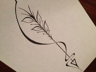 1000 images about tattoos on pinterest cross tattoos for Arrow infinity tattoo