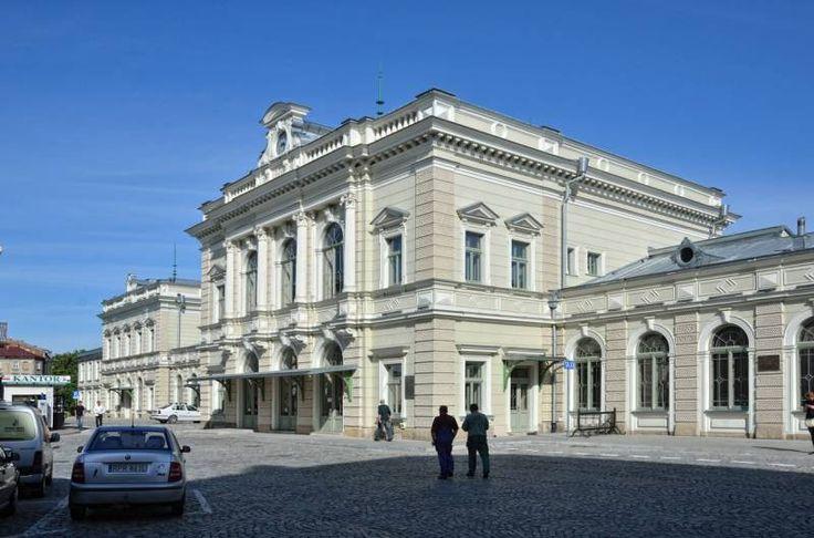 Train station in Przemyśl, author: Grzegorz Karnas