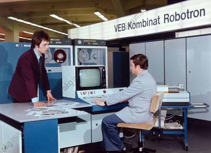 Robotron-Großrechner / DDR / Foto 1978