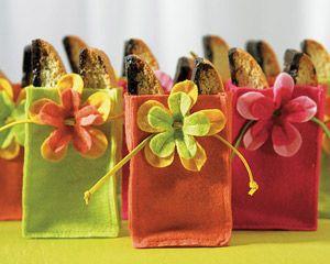 Miniature Felt Favor Bags