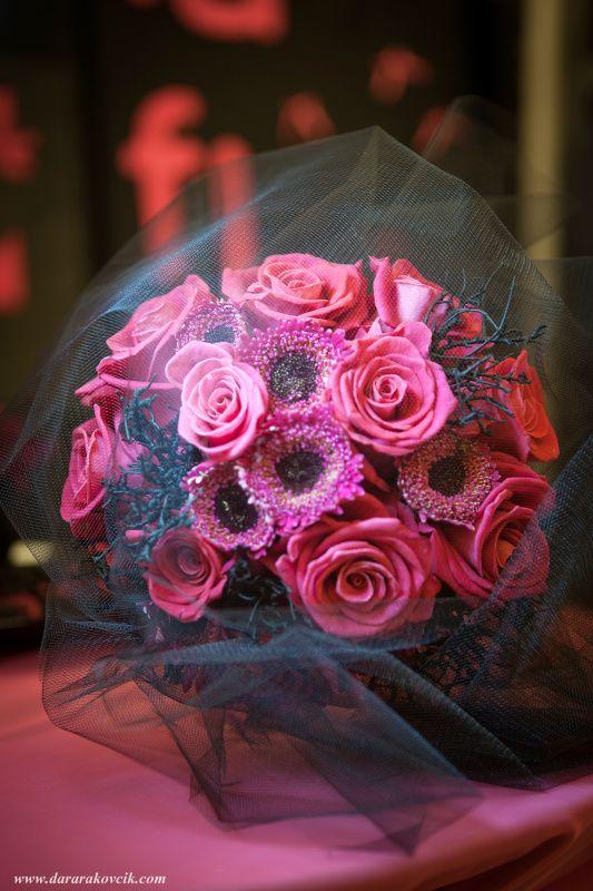 Pink, black, punk, rock, wedding design