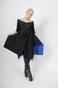 4dc22256d74a XD Xenia Design Zipper Front Taffeta Gaso Tunic - S - Blue | ATELIER957 |  Shop women's unique, statement, timeless, and versatile tops for any body  type and ...