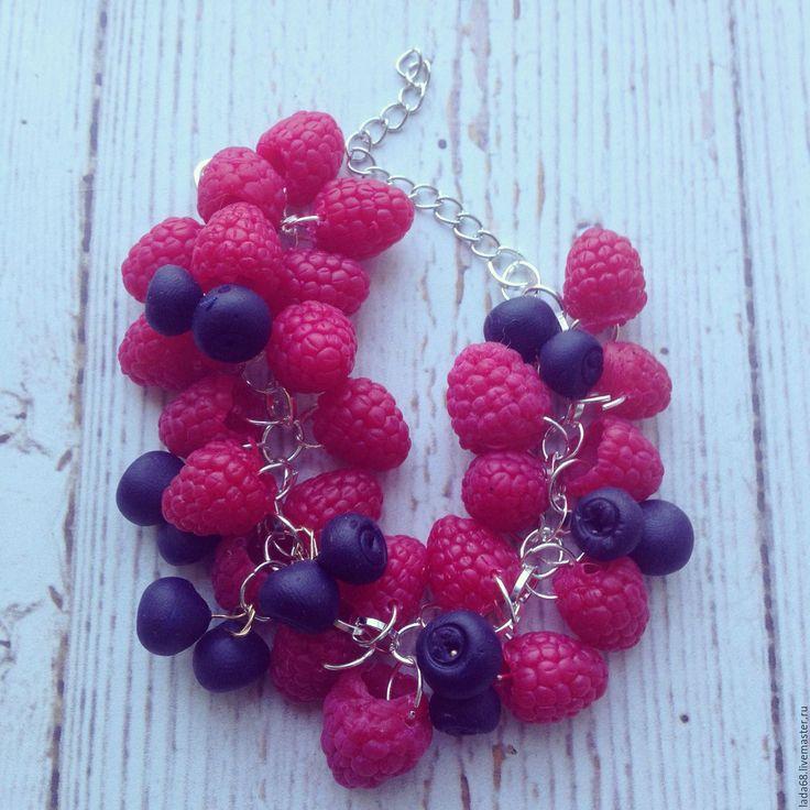 Купить Браслет ''Ягодное лето'' - боаслет, браслет с ягодами, купить, купить подарок, купить браслет