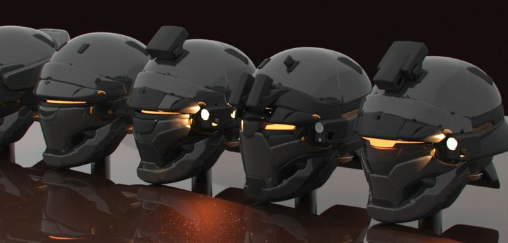 ArtStation - Phantom Project helmet designs, Mohammed Z. Mukhtar