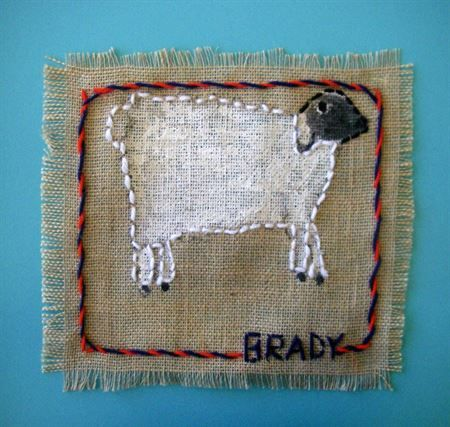 Check out student artwork posted to Artsonia from the Farm Animal Stitchery Gr 2 project gallery at Park City Day School.