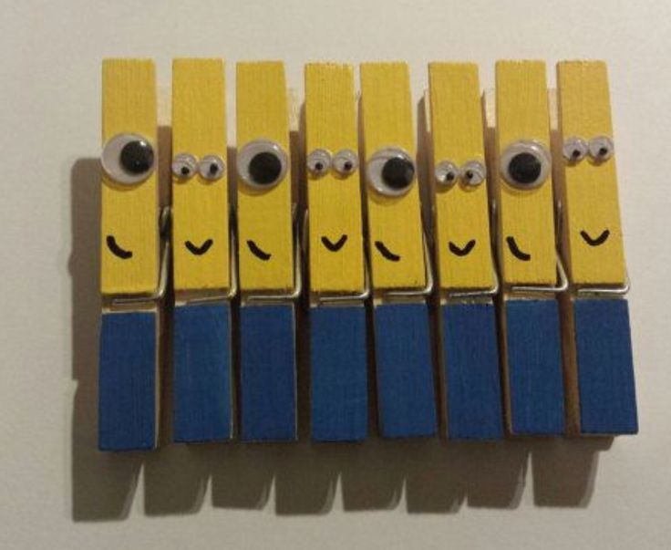 Best 20 minion craft ideas on pinterest minion art for Minion clothespins