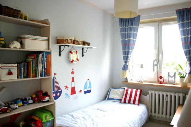My little white Home: Pokój chłopca