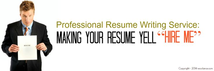 Professional Resume Writing Service Making Your Resume Yell u201cHire - resume services chicago