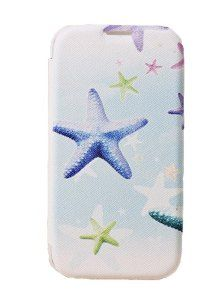 Beach starfish shell flip phone case for Samsung i9500
