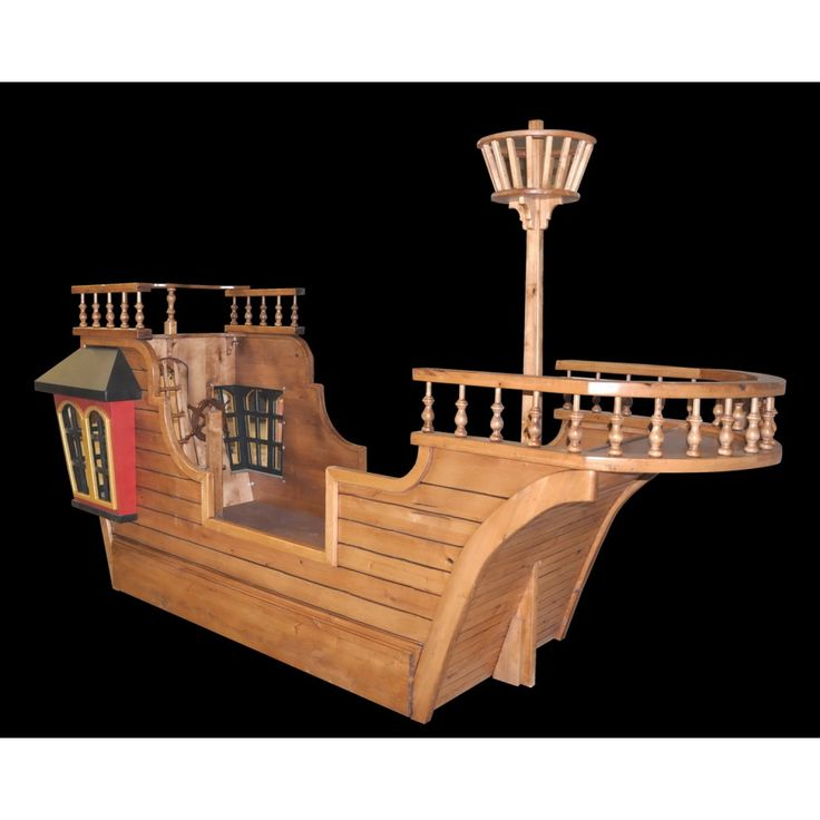 Pirate Ship Bed Plans - WoodWorking Projects & Plans