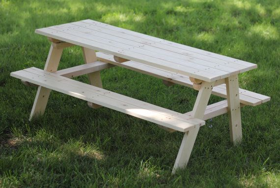 Kids Folding Picnic Table - WoodWorking Projects & Plans