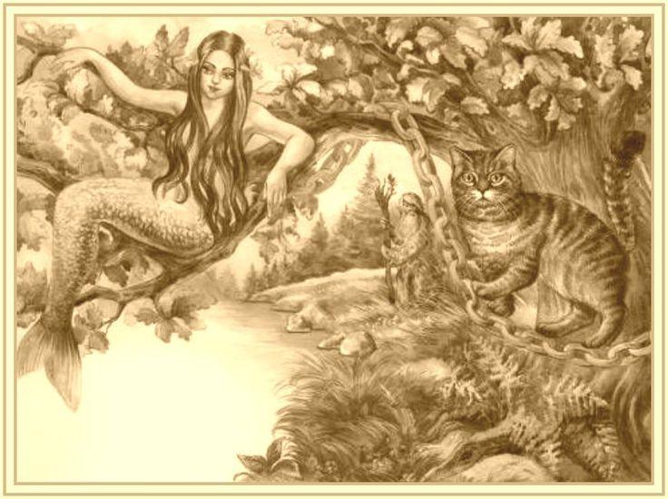 У лукоморья дуб зеленый — графомания Пушкина, или шедевр ...