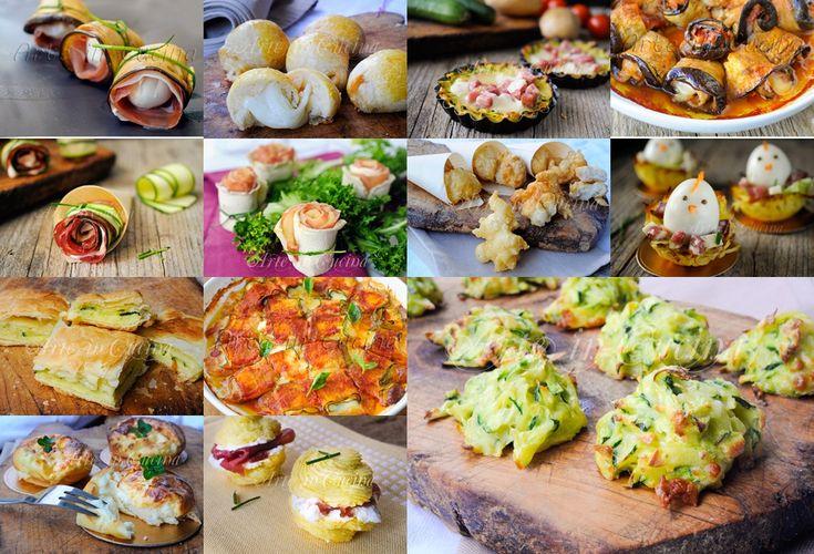 Antipasti e finger food per Pasqua ricetta facili vickyart arte in cucina